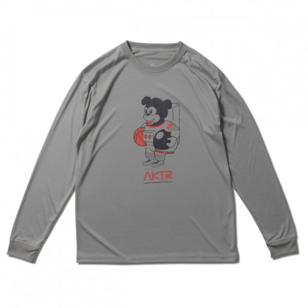 <img class='new_mark_img1' src='https://img.shop-pro.jp/img/new/icons14.gif' style='border:none;display:inline;margin:0px;padding:0px;width:auto;' />SPACE NICK L/S SPORTS TEE L-GRAY
