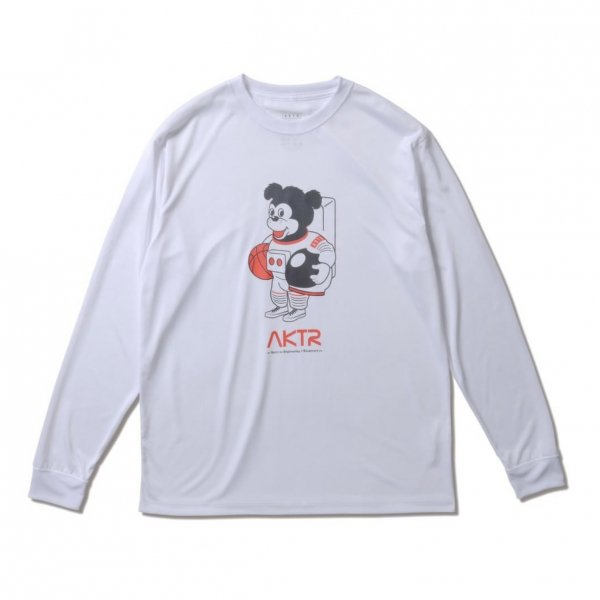 <img class='new_mark_img1' src='https://img.shop-pro.jp/img/new/icons14.gif' style='border:none;display:inline;margin:0px;padding:0px;width:auto;' />SPACE NICK L/S SPORTS TEE WHITE