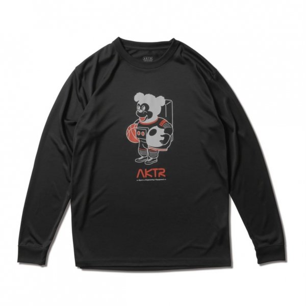 <img class='new_mark_img1' src='https://img.shop-pro.jp/img/new/icons14.gif' style='border:none;display:inline;margin:0px;padding:0px;width:auto;' />SPACE NICK L/S SPORTS TEE BLACK