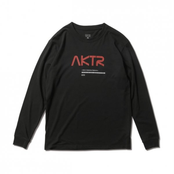 <img class='new_mark_img1' src='https://img.shop-pro.jp/img/new/icons14.gif' style='border:none;display:inline;margin:0px;padding:0px;width:auto;' />SPACE AKTR LOGO L/S TEE BLACK