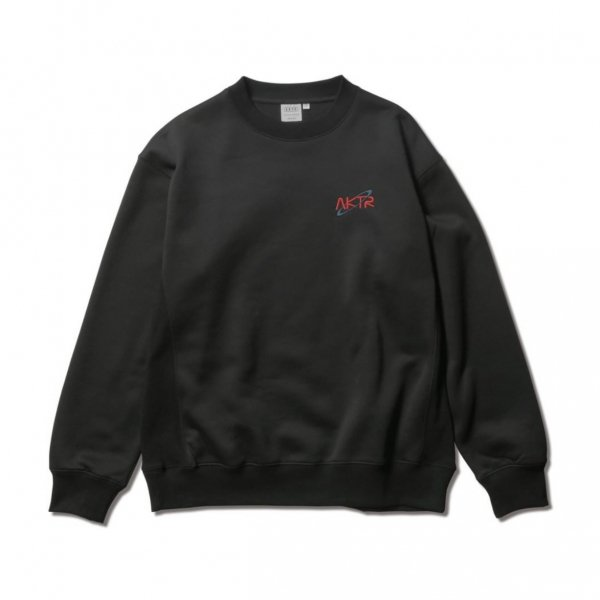<img class='new_mark_img1' src='https://img.shop-pro.jp/img/new/icons14.gif' style='border:none;display:inline;margin:0px;padding:0px;width:auto;' />SPACE B.BALL PHOTO SWEAT CREW NECK BLACK