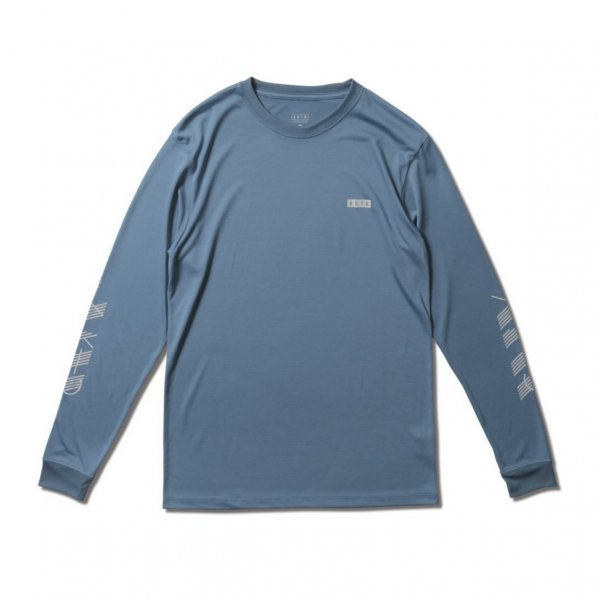 <img class='new_mark_img1' src='https://img.shop-pro.jp/img/new/icons14.gif' style='border:none;display:inline;margin:0px;padding:0px;width:auto;' />AAC L/S SPORTS TEE BLUE