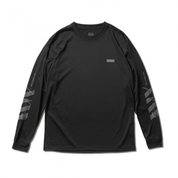 <img class='new_mark_img1' src='https://img.shop-pro.jp/img/new/icons14.gif' style='border:none;display:inline;margin:0px;padding:0px;width:auto;' />AAC L/S SPORTS TEE BLACK