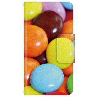 カラフル・スイーツ・チョコレート 多機種手帳型スマートフォンケース