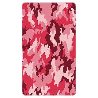 迷彩 カモフラージュ ピンク モバイルバッテリー