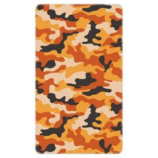 迷彩 カモフラージュ オレンジ モバイルバッテリー