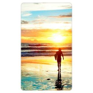ビーチ サンセット サーフィン 写真 モバイルバッテリー
