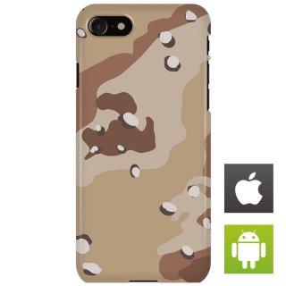 迷彩 カモフラージュ デザート スマートフォンケース ハードケース iPhone アンドロイド