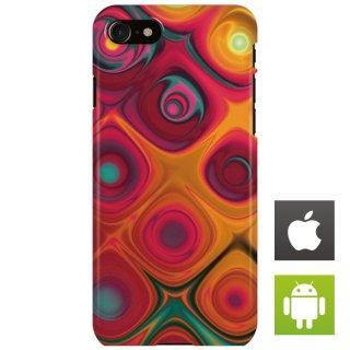 カラフル トロピカル トリップ スマートフォンケース ハードケース iPhone アンドロイド