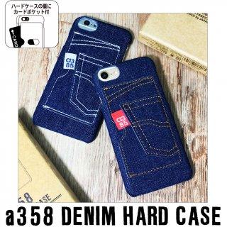 本物デニムのiPhoneケース a385