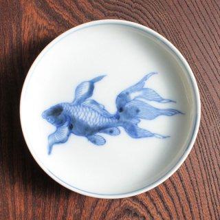 金魚染付皿