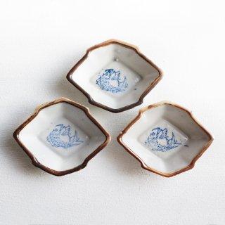 菱形豆皿set 鯛