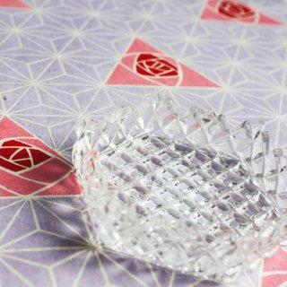 プレスガラスコースター