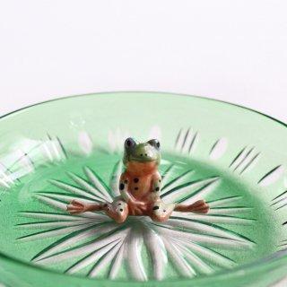 レトロガラス皿