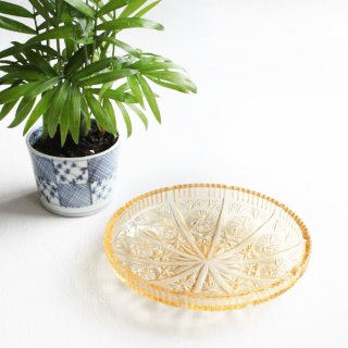 プレスガラス皿