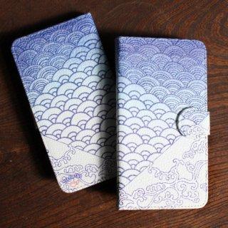 青海波-オリジナル モバイルcase