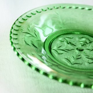 プレスガラス小皿