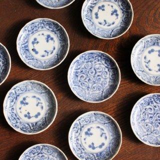 豆皿 蛸唐草