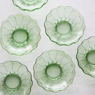 かき氷皿 緑