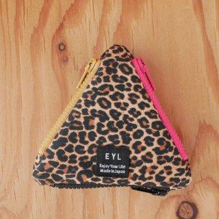 【EYL】Coin Case/Leopard