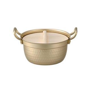 木蓋付きアルミ鍋 15.5cm
