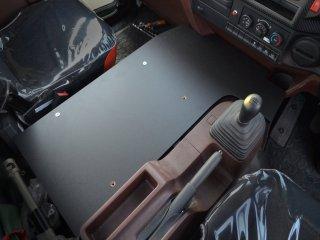日野 17 レンジャー センター ベースプレート [標準/ワイド] ベース板 センターベース 板 ベース フラット コンソール 棚 収納 内装 棚板 プレート テーブル ボックス サイドテーブル 新型