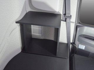 いすゞ ギガ 20 ファイブスターギガ ベッドサイドキャビネット 寝台 新型ギガ コンソール テーブル 棚 ラック ボックス 内装 収納棚 本棚
