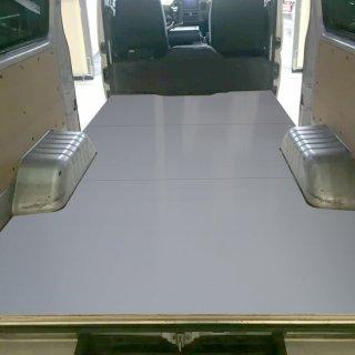 日産 キャラバン DX ※旧型専用 E25系 フロアパネル L 標準ボディ 【セカンドシートなし用】 パネル 荷室 荷台 収納 棚 内装 板張り 板貼 荷室板 板 収納板 NISSAN キャラバンDX