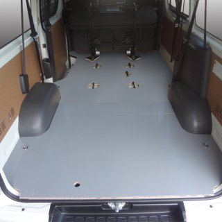 200系 ハイエース レジアスエース 標準 DX フロアパネルL [9人乗り] フロアパネル フロア パネル 床張り 床貼り フロアキット フロアマット 床板 床パネル 床