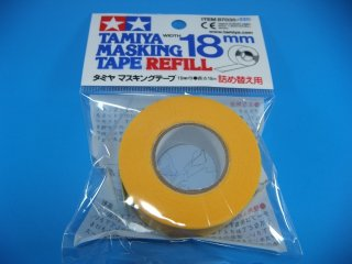 TAMIYA タミヤ マスキングテープ 詰め替え用 18�