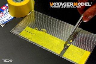 VOYAGERMODEL マスキングテープカッティングジグ1 直線