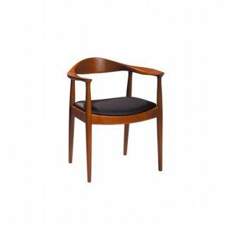 ザ・チェア デンマーク デザイナー ハンスJウェグナー リプロダクト レプリカ ウォルナット 書斎 ダイニング 黒 ブラック 椅子