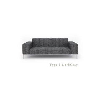 3人掛け I型ソファ 低めのアームレスト[幅200]SARINA�(サリーナ�)TypeI ダークグレー
