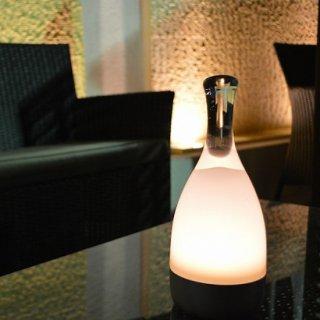 照明 ランプ アウトドア 屋外 グランピング ベランピング キャンプ コードレス LED 調光 ガラスハンドル Bottled(ボトルド)【お取り寄せ商品】