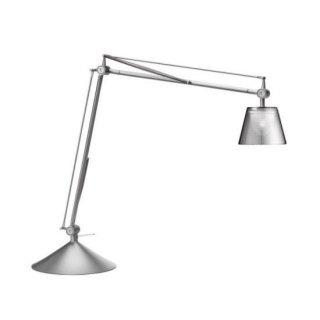 送料無料 テーブルライト タスクライト 照明 フィリップスタルク イタリア 25W FLOS(フロス) Archimoon K(アーキムーンK)(シルバー)