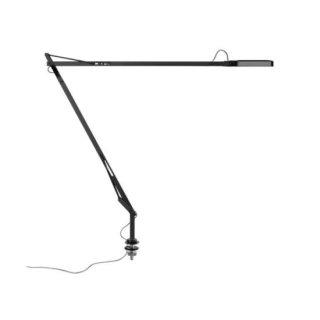 送料無料 テーブルライト 照明 黒 LED アルミニウム アントニオ・チッテリオ FLOS(フロス) Kelvin LED Desk support with hidden cable(ブラック)
