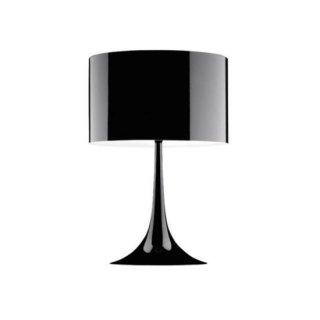 送料無料 テーブルライト フロアランプ 照明 黒 セバスチャン・ロング イタリア 100W E26 FLOS(フロス) Spun Light T1(スパンライトT1)(ブラック)