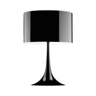 送料無料 テーブルライト フロアランプ 照明 黒 セバスチャン・ロング イタリア 100W E26 FLOS(フロス) Spun Light T2(スパンライトT2)(ブラック)