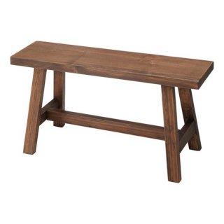 ソーレ ワイドスツール チェア 椅子 スツール ブラウン 茶色 幅70cm 奥行26cm 高さ36cm