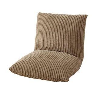 カックンリクライナー 座椅子 椅子 インテリア 雑貨 茶色 ブラウン 座面14cm 高さ27cm 幅27cm 折り畳み時23cm