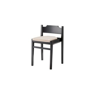 ダイニングチェア ラバーウッド ベージュ スタッキング フック カフェ 飲食店 lieto chair(リエートチェア)