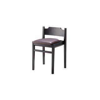 ダイニングチェア ラバーウッド ブラウン 茶 スタッキング フック カフェ 飲食店 lieto chair(リエートチェア)