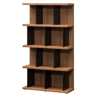 シェルフ ブラウン ブラック 木目 間仕切り棚 飾り棚 本棚 収納 幅80cm 送料無料 UTA-SHELF   シンプル 上品