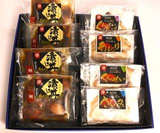 おもてなし スライス&漬け丼 セット(8袋入)  ((5,320円➽5,200円)⇒送料無料