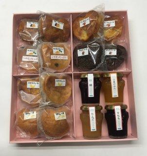 焼菓子と冷菓の詰合せ (11種類⇒18個)      (3,390円➽3,200円)