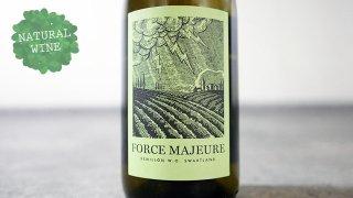 [2250] Force Majeure Semillon 2017 Mother Rock Wines / フォース・マジュール・セミヨン 2017 マザー・ロック・ワインズ