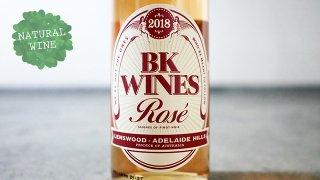 [2400] Pinot Noir Rose 2018 BK Wines / ピノ・ノワール・ロゼ 2018  BKワインズ