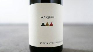 [2175] Wachauer Gruner Veltliner 2018 Rainer Wess / ヴァッハウ グリューナー・ヴェルトリーナー 2018 ライナー・ヴェス
