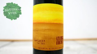 [2625] Zweigelt vom Opok 2017 Maria & Sepp Muster / ツヴァイゲルト・フォム・オーポク 2017 マリア・ウント・セップ・ムスター