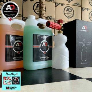 フォームランス マジフォーム4L スーパーフォーム4L 泡 洗車 スノーフォーム 高圧洗浄機 フォームガン  濃縮 カーシャンプー 洗車 ケルヒャー 対応セット商品